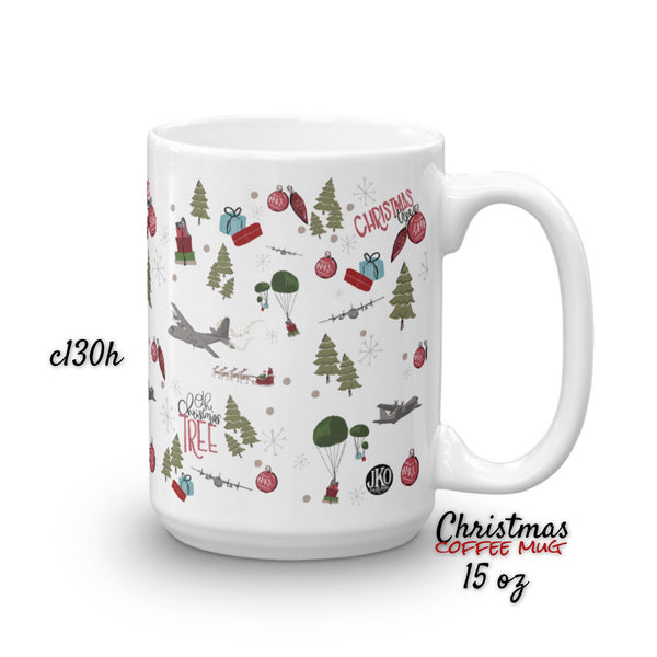 2018 Christmas coffee mug. C130h