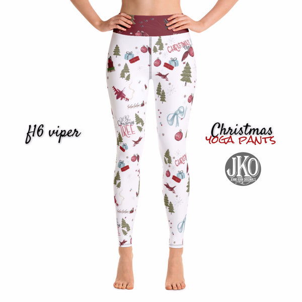 2018 Christmas Yoga Pants- F16