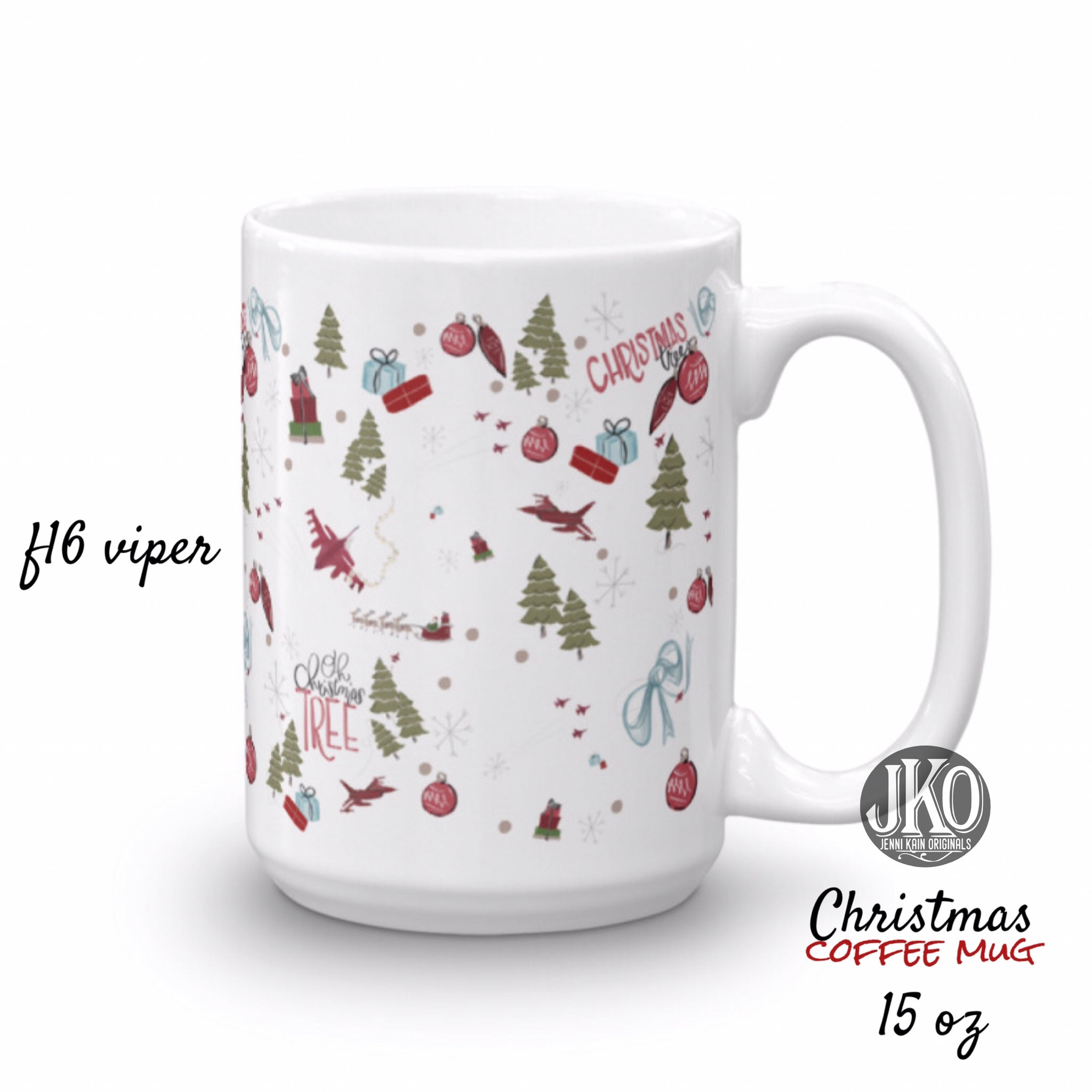 Christmas Coffee Mugs.2018 Christmas Coffee Mug F16