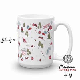 2018 Christmas coffee mug. F16