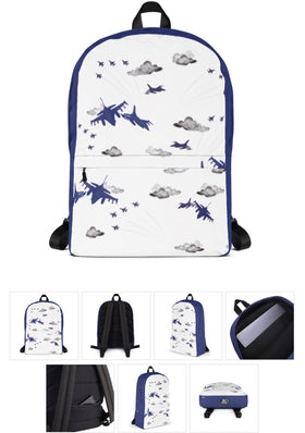 F16 Backpack. Blue