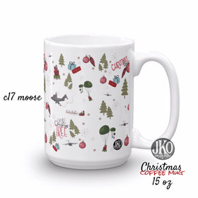 2018 Christmas coffee mug. C17