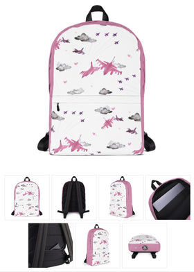 F16 Backpack. Pink