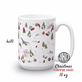 2018 Christmas coffee mug. Kc10