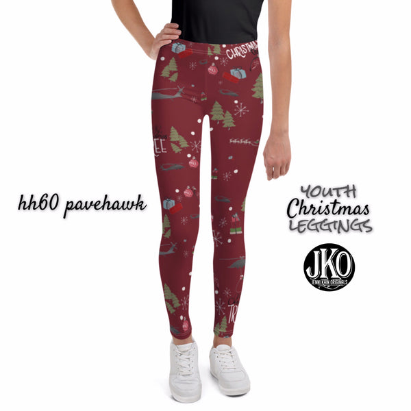 2018 Christmas Leggings ( toddler and youth)- HH60