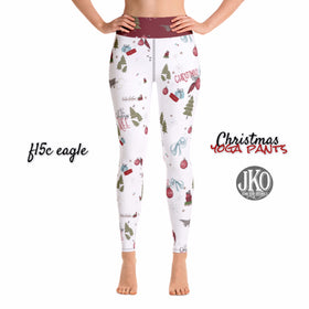 2018 Christmas Yoga Pants- F15c