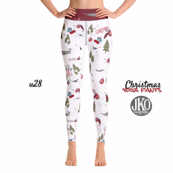 2018 Christmas Yoga Pants- U28