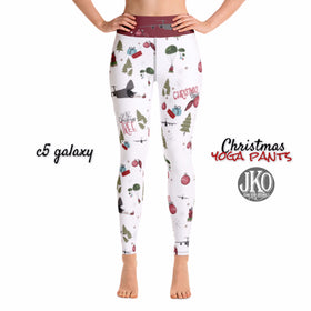 2018 Christmas Yoga Pants- C5