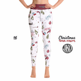 2018 Christmas Yoga Pants- T6