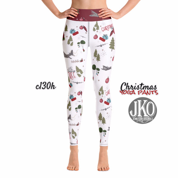 2018 Christmas Yoga Pants- C130h