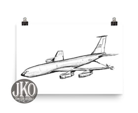 (Old version) KC135 Print-Unframed (matte)