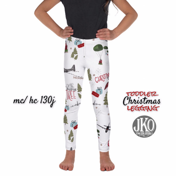 2018 Christmas Leggings ( toddler and youth)- MC130j