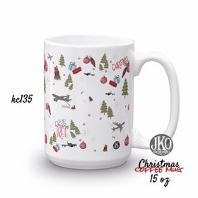 2018 Christmas coffee mug. Kc135