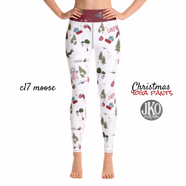 2018 Christmas Yoga Pants- C17