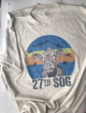 27th SOG- COW Shirt