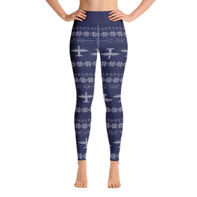 AC-130W Cross Stitch Yoga Pant -2019 Design [ 3 colors Avail]