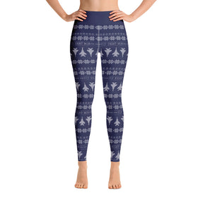 F-15c Cross Stitch Yoga Pant -2019 Design [ 3 colors Avail]
