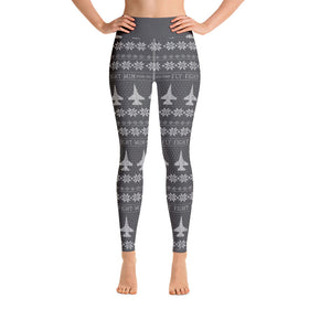 F-16 Cross Stitch Yoga Pant -2019 Design [ 3 colors Avail]