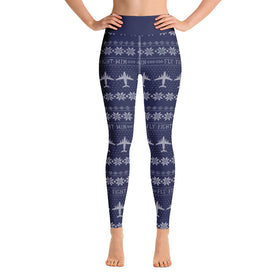 C-17 Cross Stitch Yoga Pants (2019 Design)