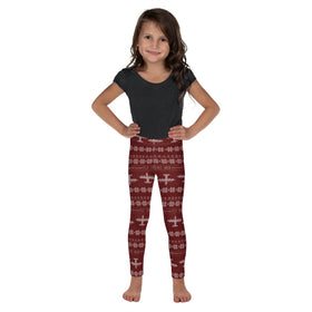 MC-130 Cross Stitch Toddler & Youth  Leggings -2019 Design [3 colors avail]