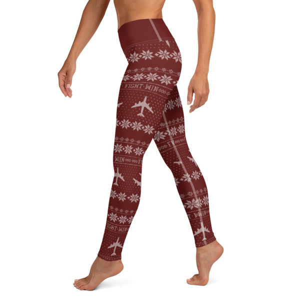 KC-135 Cross Stitch Yoga Pant -2019 Design [ 3 colors Avail]