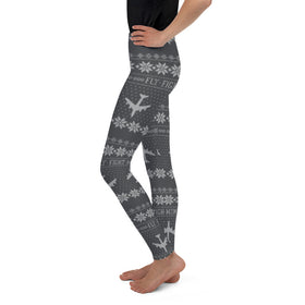 KC-135 Cross Stitch Toddler & Youth  Leggings -2019 Design [3 colors avail]