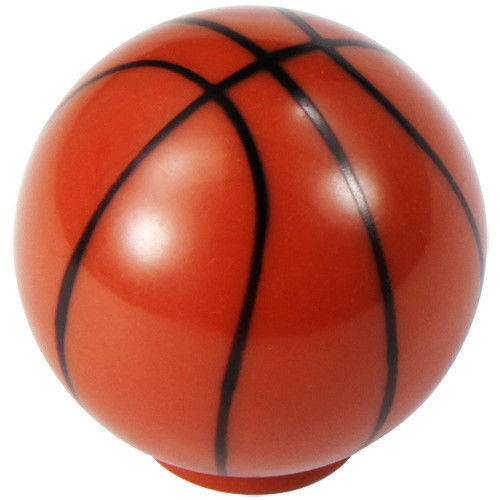 "Basketball Dresser Wardrobe Knob 1-1/4"" Sports Cabinet Hardware Court - amerfithardware"