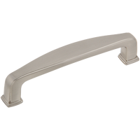 "Silverline P2046 Cabinet Pull Handle CC:96 mm ~3-3/16"" Transitional Style - amerfithardware"