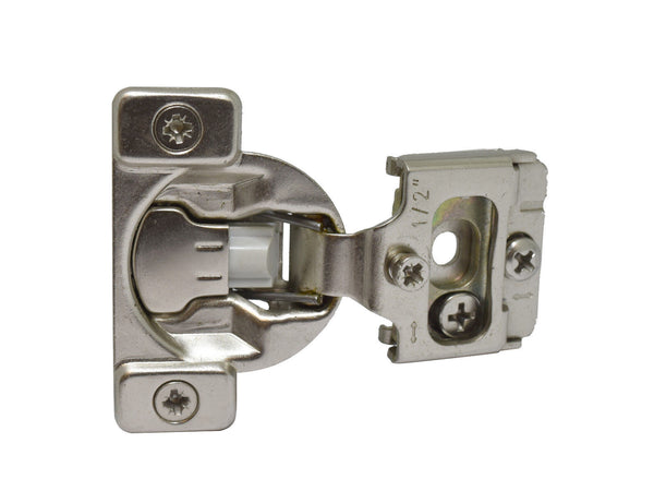 Compact Cabinet Hinges for Face Frame Cabinets Adjustable Soft Close Short Arm - amerfithardware