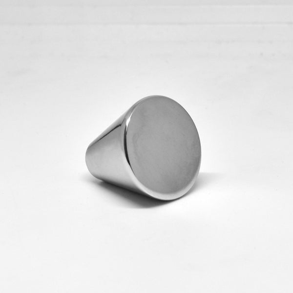 Silverline K2008 Cabinet Hardware Knob 25 x 27 H (mm) Cone Peg Medicine Bathroom - amerfithardware