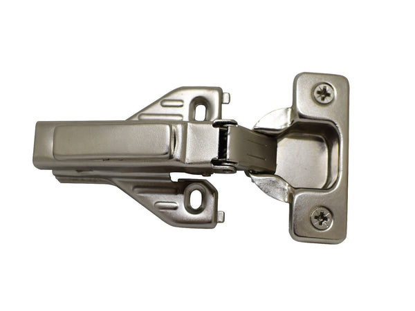 110 Half Partial Overlay Concealed Clip On Hinge Soft Closing with Base Plate for Face Frame and Frameless - amerfithardware