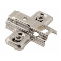 45 ° Angle Concealed Hinge Cabinet Hardware 1 Pair Bifold Door w Mounting Plate - amerfithardware