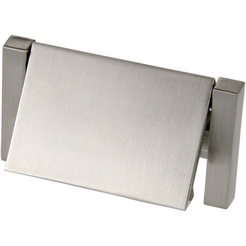 "Silverline B2010 Flush Latch Bail Pull CC: 2-1/4"" Proj: 5/16"" Cabinet Hardware - amerfithardware"