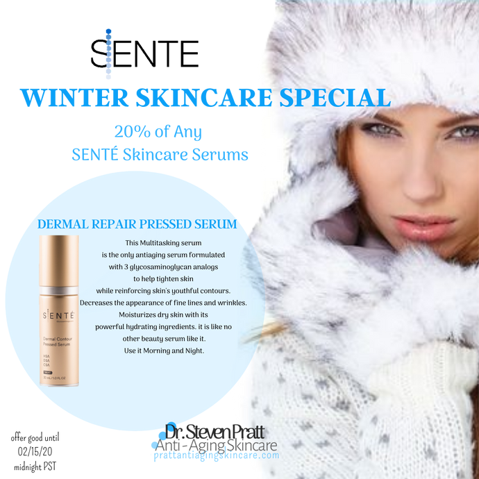 SENTE Dermal Contour Pressed Serm |Winter Skincare Special  | 20% off And Beauty Serum