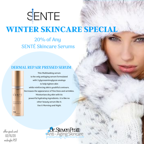 Dermal Contour Pressed Serum Sente AntiAging Winter Special
