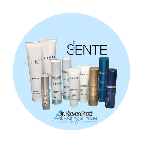 SENTÉ  Antiaging Skin-care with Dr. Pratt Product Line Up 2020