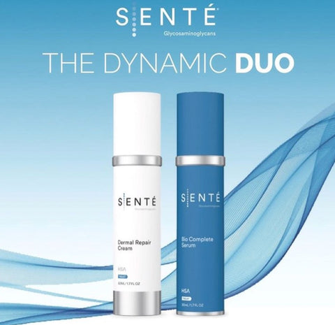 Sente Dynamic Duo Face Cream and Beauty Serum