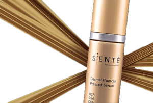 SENTE Dermal Contour Pressed Serum included in Winter Essential Trio