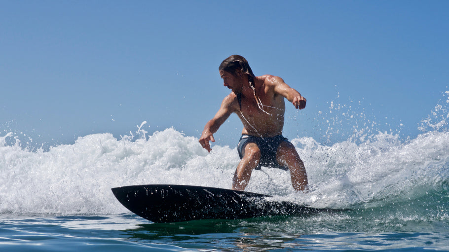 New Release: ECO–FRIENDLY SIDE TIE BOARD SHORT COLLECTION