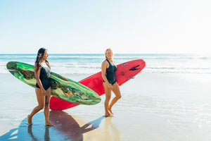 Lush Palm features Hakuna Wear / Worry-Free Swimwear Designed to Stay On in the Surf