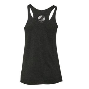 'BE FREE TO BE YOU' comfortable tank top for women features the colorful Hakuna Wear logo on the back.