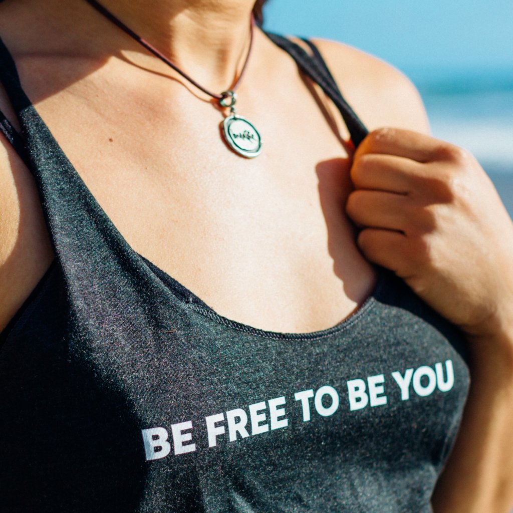 'BE FREE TO BE YOU' Tank