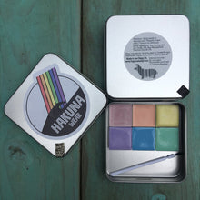 Rainbow Sunscreen Face Paint Palette
