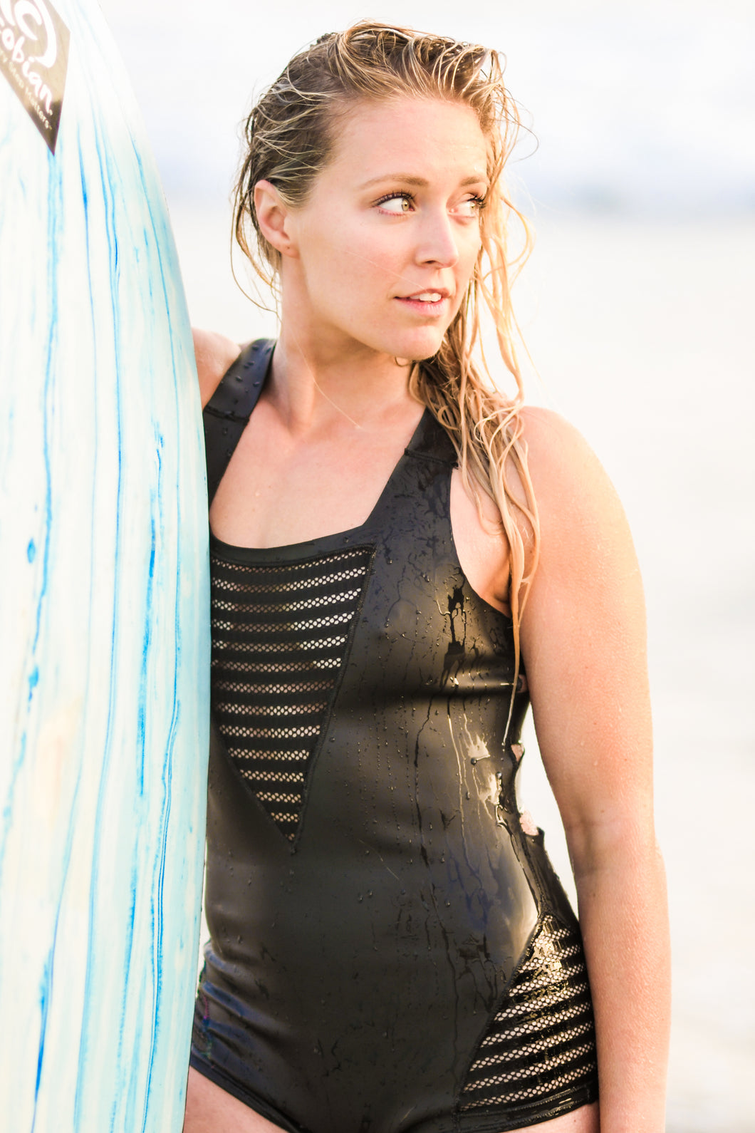 One Piece Surf Neoprene Swimsuit