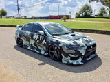 MetroRestyling Jumbo Urban Night Camouflage custom printed on 3M IJ180CV3 by Alwan Wraps and wrapped by Decal Jones