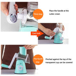 Multifunctional Manual Vegetable Cutter