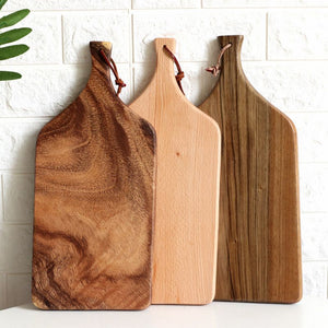 Wooden Slicing Board Or Chopping Tray