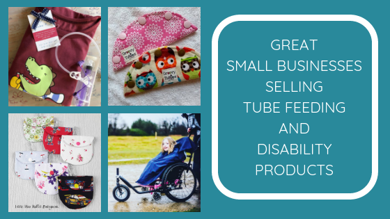 Meet the great small businesses selling tube feeding and disability products