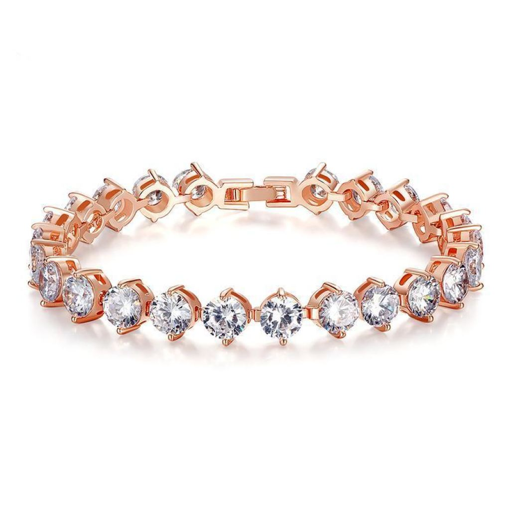 products zircon curled and phlox chain bracelet collections link