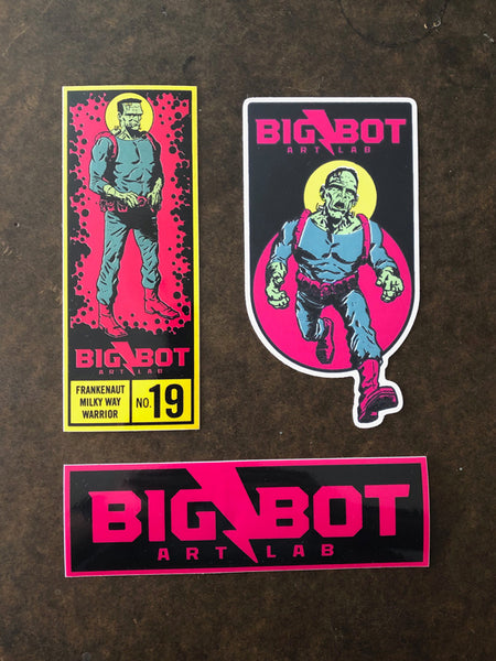 Big-Bot Sticker Bundle